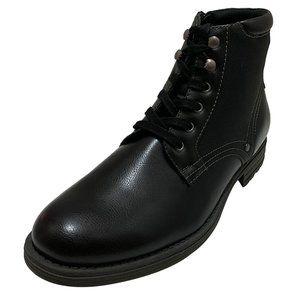 Alfani Mens Bronson Manmade Medium Black Boots 9 M